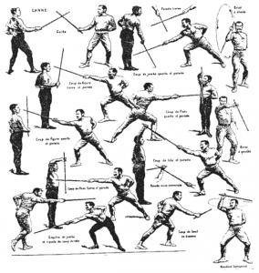 фехтование на мечах
