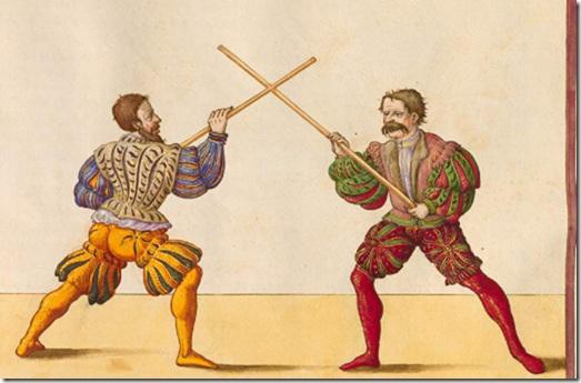 дубинка-фехтование